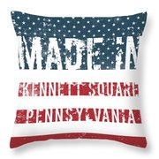 Made In Kennett Square, Pennsylvania Throw Pillow