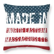 Made In North Eastham, Massachusetts Throw Pillow