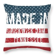 Made In Pickwick Dam, Tennessee Throw Pillow