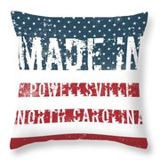 Made In Powellsville, North Carolina Throw Pillow