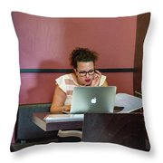 Made In Sud Throw Pillow
