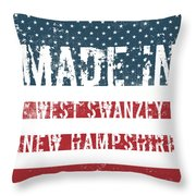 Made In West Swanzey, New Hampshire Throw Pillow