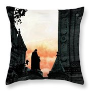 Madonna And Child II Throw Pillow