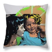 Madonna De Milo Throw Pillow