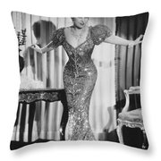Mae West (1892-1980) Throw Pillow