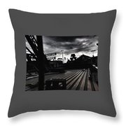 Magic Hour On The Wonder Wheel Throw Pillow
