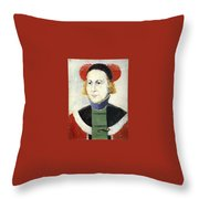 malevich179 Kazimir Malevich Throw Pillow