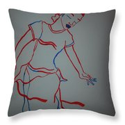 Mali Traditional Dance Throw Pillow