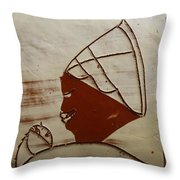 Mama 6 - Tile Throw Pillow