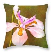 Mama's Iris Throw Pillow