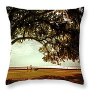 Mandeville Lakefront Throw Pillow