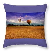 Manipulation Throw Pillow