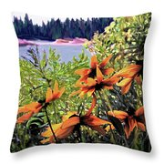 Manitoulin Shores Throw Pillow