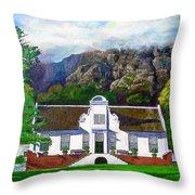 Manor House Throw Pillow