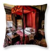 Mansion Bedroom Throw Pillow