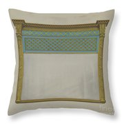 Mantel Looking Glass Throw Pillow