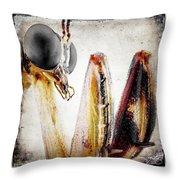 Mantis 11 Throw Pillow