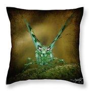 Mantis 5 Throw Pillow