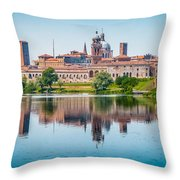 Mantua Skyline Throw Pillow