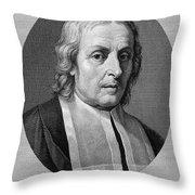 Marcello Malpighi, Italian Inventor Throw Pillow
