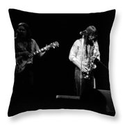 Marshall Tucker Winterland 1975 #32 Throw Pillow