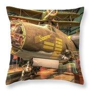 Martin B-26g, Marauder, Shootin In Throw Pillow