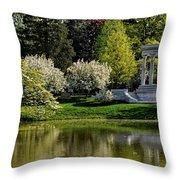 Mary Baker Eddy Memorial Throw Pillow
