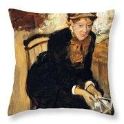 Mary Cassatt  Throw Pillow