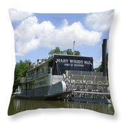 Mary Woods No.2 Throw Pillow