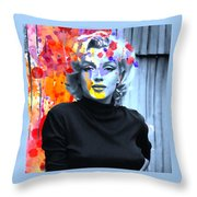 Marylin  Throw Pillow