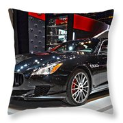 Masareti Quattraporte Gts Throw Pillow