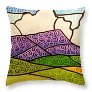 Massanutten Peak Throw Pillow
