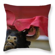 Matador Jose Maria Manzanares IIi Throw Pillow