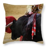 Matador Jose Tomas II Throw Pillow