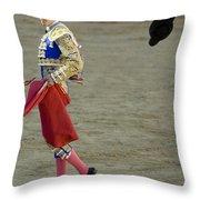 Matador Sebastian Castella II Throw Pillow