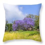 Maui Upcountry Throw Pillow