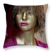 Maureen  Throw Pillow