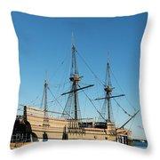 Mayflower II  Throw Pillow