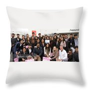 Mba Tour For Students Factory Visits Throw Pillow
