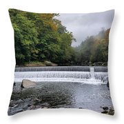 Mcconnell State Park, Pennsylvania  Throw Pillow