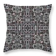 Mechanismadness Throw Pillow