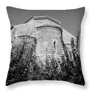 Medieval Abbey - Fossacesia - Italy 6 Throw Pillow