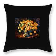 Melody Of Beauty Throw Pillow