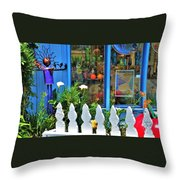 Mendocino Art Center Throw Pillow