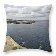 Menorca North Shore From Mongofre Throw Pillow