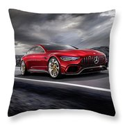 Mercedes A M G   G T Throw Pillow