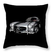 Mercedes-benz 300sl Throw Pillow
