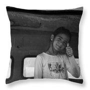 ,mercedes  Throw Pillow
