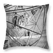 Mercury Program, Mastif Astronaut Throw Pillow