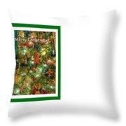 A Merry Christmas Throw Pillow